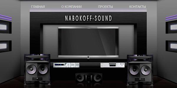Раскрутка сайта магазина nabokoff-sound.ru